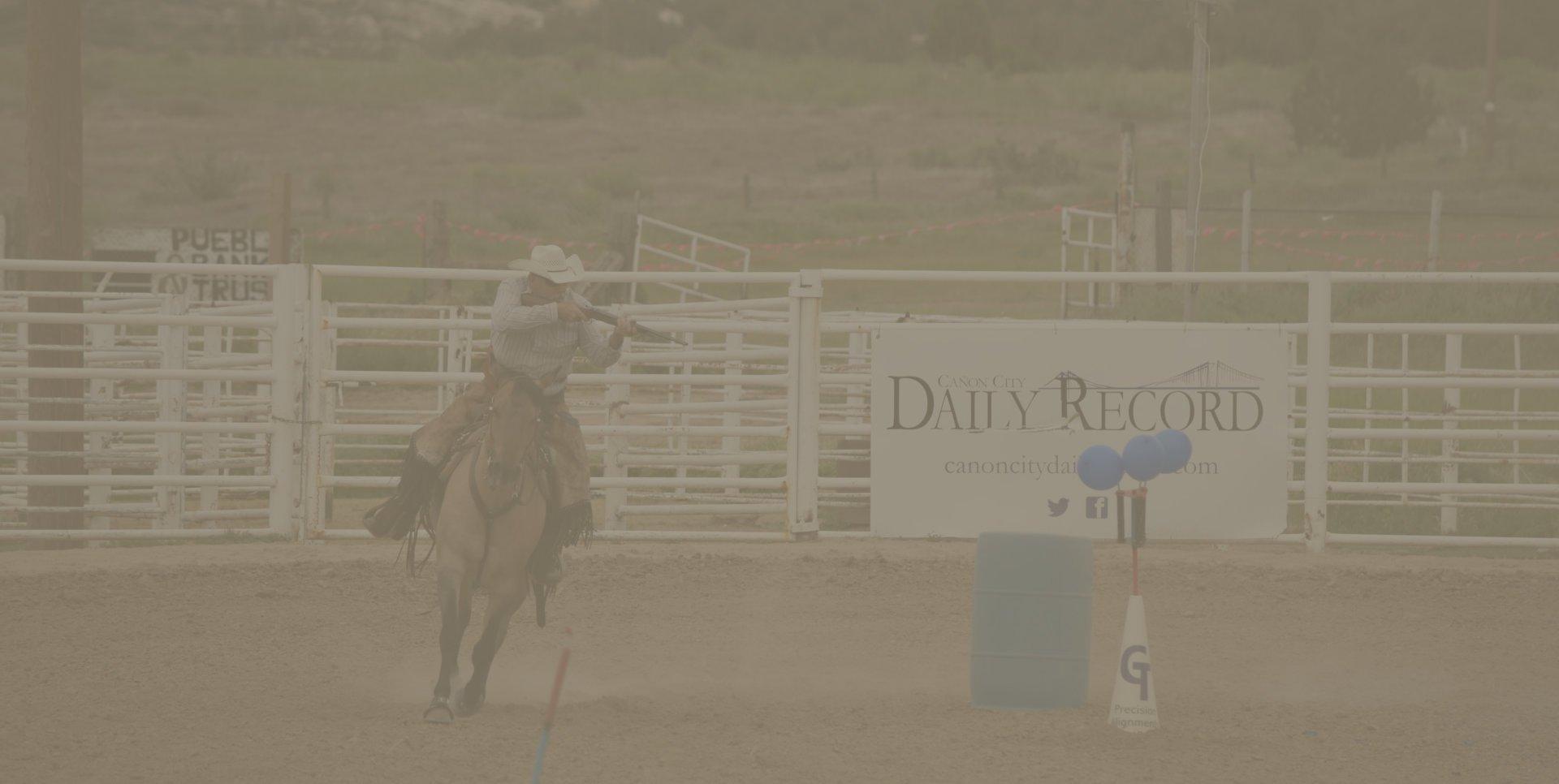 Riding horse image